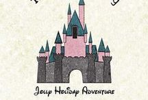 Jolly Holiday Adventure / The storybook that my husband and I created for our kids to tell them about our surprise trip to Disneyland!