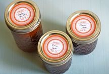 Labels and craft / Free printables, canning