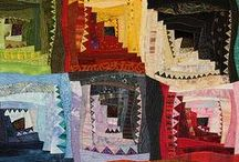 INSPIRE: Patchy and Quilty / I'm slowly learning how to patchwork and quilt - these are my inspirations and my tutorials