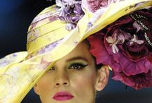 Kentucky Derby Hats/Millinery / Hats hats hats LOVE them on other people :-) I find one once in a while that I think looks OK on me! / by Mary Schumaker