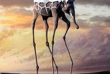Art: Surrealism / The best period in the history of fine art and its modern interpretations.