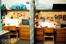 Ramblin' Room Ideas / Up with the White and Gold! Ideas for your residence hall or apartment will certainly make you feel at home after a day of classes.