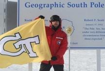 Ramblin' Around the World / Yellow Jacket pride isn't confined to the boundaries of the City of Atlanta.