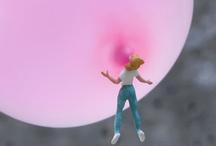i believe in pink. / by Andrea Idalia