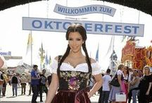 Celebrities in Dirndls