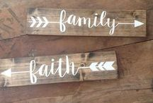 {Home Decor} Wooden Signs