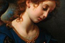 Женские образы, портреты живописи