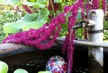 Garden: Water & Fire Features in the Garden / Water features & fire features for gardens