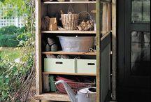Garden: Storage Ideas (not Sheds) / Garden storage