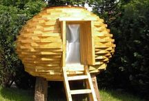 Garden: PlayHouses / Playhouses and other Kid structures in the garden