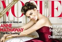 Anne Hathaway - Vogue America, November 2010