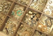 bobbles, bangles and beads / Accessories, heirloom jewelry, beads, bangles and lots of sparkle. / by Michele Batye