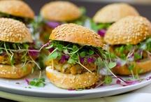 Plant Based aka Vegan Burgers, Patties & Cakes