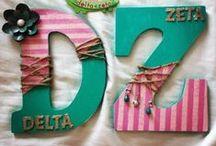 Delta Zeta crafts / by Christine Jezusko