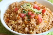 Rice Recipes / View some of our favorite rice recipes. Everything from Mexican Rice, Spanish Rice, Fried Rice, and more! / by Billie Hillier