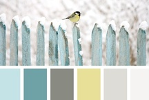 paint colors.  / by Ashley Burgess