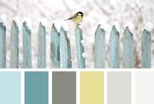 paint colors.  / by Ashley Burgess