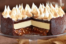 Dolce grande {cakes, tarts, ice creams, pies, loaves etc} / by Olivia Harper-Rummens