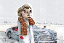 kasia cerazy illustrations / www.kasiacerazy.com