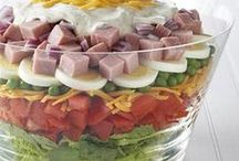 ~ Salad Recipes / by Billie Hillier