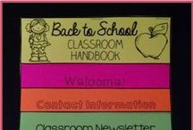 Back to School / A board with some tips and tricks for heading back to school.