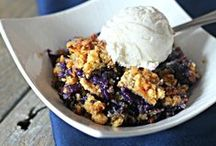 Blueberry Recipes / Our favorite recipes using blueberries for ice cream, desserts, pies, smoothies, and more. / by Billie Hillier