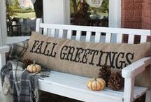 fall favorites / For the love of fall!  Inspiration for indoor and outdoor décor, crafts, tabletop and gift ideas for the Thanksgiving season. / by Michele Batye