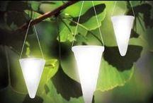 Garden: Lighting / Lighting for the garden from professional to diy craft ideas