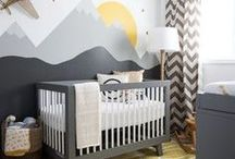 Nursery decor and inspiration / Find lovely nursery decor inspiration and sweet products to make your own awesome baby nursery ! *** You can pin your own products ! *** If you'd like to be added, just follow the board and send me a message :)