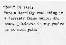 words / by Emily Kishler