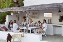 exteriors and interiors / Good interior and exterior design make four Great Indoor and outdoor living.