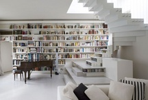 The  LIBRARY / I love simplicity but I love books and beautiful places to keep them.