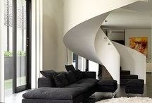 staircase ideas / I have a three story tower. I love modern simple staircases. I love fabulous staircases. / by Regina Rollin Sonoma Landscape Design