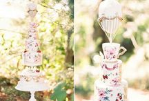 On Wedding cakes / by A Girl Named Pinky