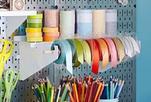 Pegboard Ideas / Pegboard ideas for home storage and organization, home decor, and garage storage and organization