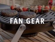 Tailgating / It's game time! Find NFL, NCAA, MLB, NBA, and NHL Fan Gear and huddle up at home. http://hayn.tl/3yj