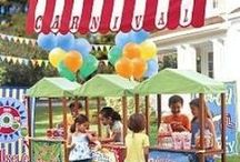 On party Children's Party / Children's Party ideas / by A Girl Named Pinky