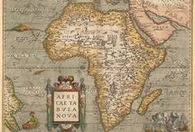 Africa maps & cartography / by Gustavo Galleguillos