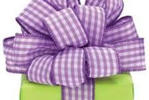 Gift Bags, Bows, and Wrapping :) / by Tina Tankersley
