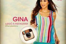 @TiendasGina / Estamos en #Instagram  / by Tiendas Gina