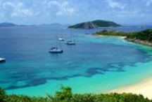 Peter Island, BVI / After you pick up your charter boat from Virgin Traders, Peter Island is a popular mooring location overnight. They have a great restaurant, Tradewinds, and wonderful beaches and snorkeling.