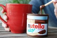 Nutella & GO! / Discover the incredible taste of roasted hazelnuts and cocoa with Nutella & GO!  Nutella & GO! is Nutella - The Original Hazelnut Spread®-- and crispy breadsticks for dipping.  It's perfect for snacking on-the-go. Look for it at check-out or in the spreads aisle at Walmart, Target, Walgreens, CVS, Rite Aid and at participating grocery and convenience stores.  / by Nutella USA