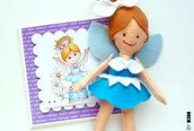 Handmade Dolls & Toys / Free patterns for making small knitted and felt dolls and toys for children and fund raisers.