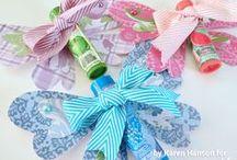Ribbon & Lace Crafty Ideas