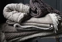 comfort / Simply put, things that feel good. Think soft, warm, snuggly, cozy, airy, steamy, and soothing.