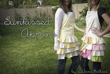 sweet apron ideas / by Country-girl-at-heart