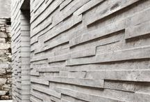 Texture / texture / tactile inspiration from a wide range of sources
