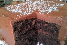 Bake / Mostly cakes.  All of these pins will click through to a recipe.  Not just pretty pictures. / by Mrs. Crumpet