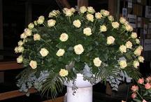 my flower arrangements / by Juul , paint, stitch, cut, nail & bake