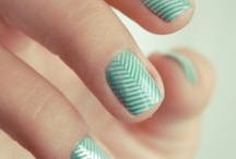 { nails } / Cute nail designs that I'll probably never do because I am horrible at doing nails. LOL / by Elizabeth Hirscher